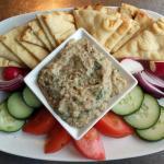 Chickpea Arancini Salad as Served (see advertised photo)