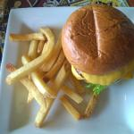 Lunch Combo -- Double Burger and Fries