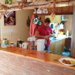 Monica in the kitchen