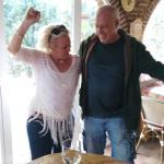 In the bar, spontaneous flamengo dance