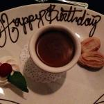 Birthday chocolate pots de creme