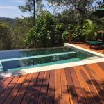 The Enchanted Cottage plunge pool