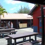 The courtyard at cooks corner avarua
