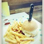 Aussie burger combo
