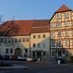 Hotel Bayrischer Hof in sehr schönen Fachwerkgebäude