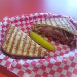 Smoked Meat Grilled Cheese