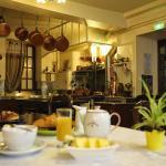 ancienne cuisine - à présent salle de petit déjeuner