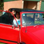 That vintage car!
