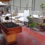 Roof terrace area