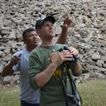 Steven helped us see many amazing birds!