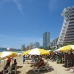 Mucha gente en las playas