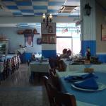 Inner part of the restaurant