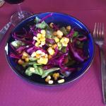 Salade menu pierrade