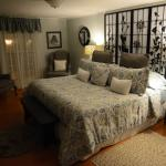 Appartement-Zimmer, Obergeschoss. Schöner kann man kaum einschlafen
