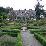 Hotel from the formal garden