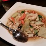 Thai Garden with chicken