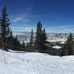 View from top of Steamboat Resort