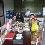 Breakfast at Red Bridge