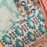 They have a wonderful selection of fabric that changes frequently.  I'm so happy with my purchas