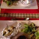 Menu à 25€ : le plat, filet de canard, pomme de terre au four