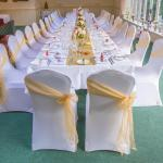 Wedding Table Layout in Function Room