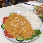 Red Curry Chicken - I love the sauce