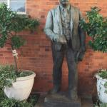 Statue of Rhodes at Kimberley Club