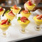 Strawberry Vanilla Custard