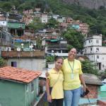 Les charmantes guides dont Luiza francophone, un vrai plus à Rio !