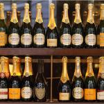Lots of champagne on offer!