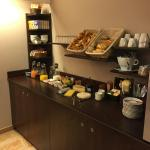 Nouvelle  réception  et salle  petit déjeuner