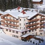 Berghaus im Winter