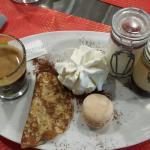Algnoletti truffe foie gras et café gourmand. .. tout simplement DÉLICIEUX !!