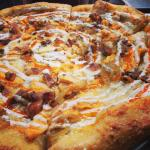 Our Buffalo Chicken Pizza