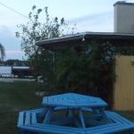 Nice places and tables in plain nature....View over Miller's Bayou!