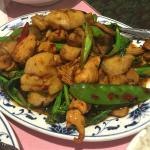 Chicken and Scallops with Mixed Chinese Vegetables