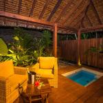 A place to lounge or take a dip in your own private plunge pool