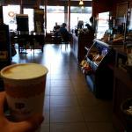 Quad-shot maple latte