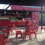 The open side of Qawa Coffee