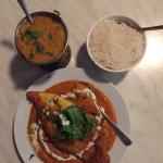 Main - red emperor with rice & dhal