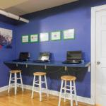 Wrigley Hostel Computer Room