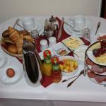 zimmerservice Frühstück