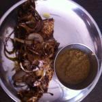 whole fried bhola fish