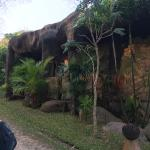 Notice the rock shaped elephants