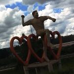 Estátua de Pelé