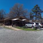 View of the restaurant from the parking lot