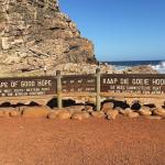 Cape Point, most South-Westerly point of the continent.