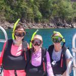 Pre-snorkeling!