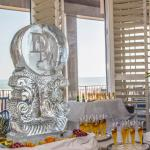 Champagne Ice Luge.  Wedding Receptions, Anniversary Brunches and more - All served with a view!
