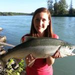 Nice Red Salmon Alli!